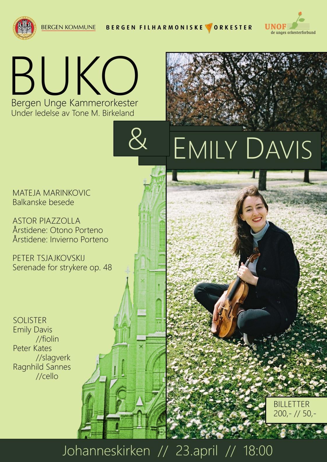 BUKO&Emily_Konsertplakat
